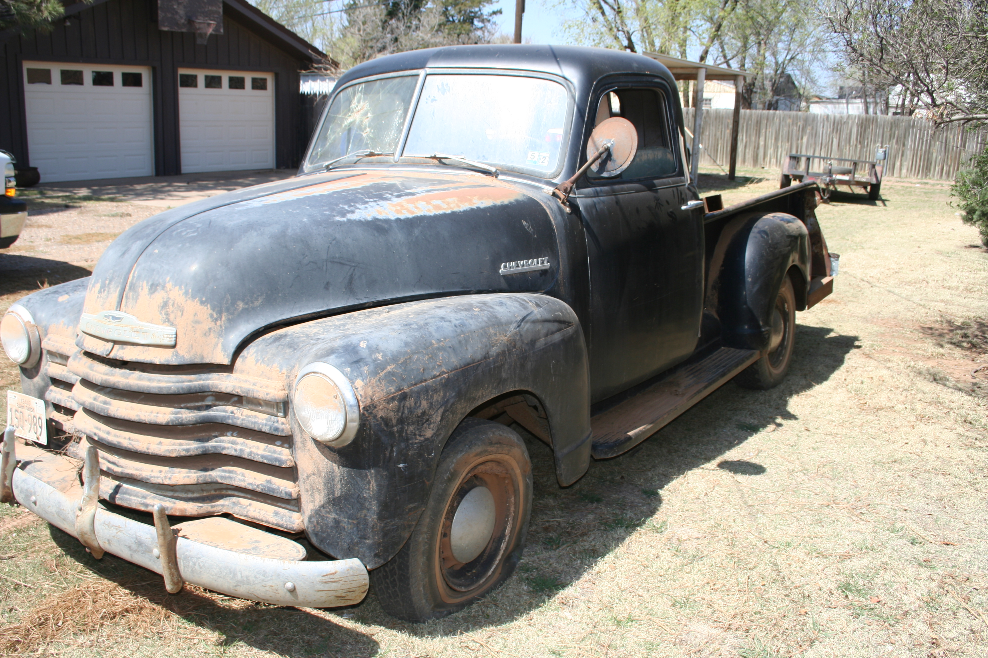 Chevrolet Pickup 1951 Curry Troys Tractors Truck Chevy