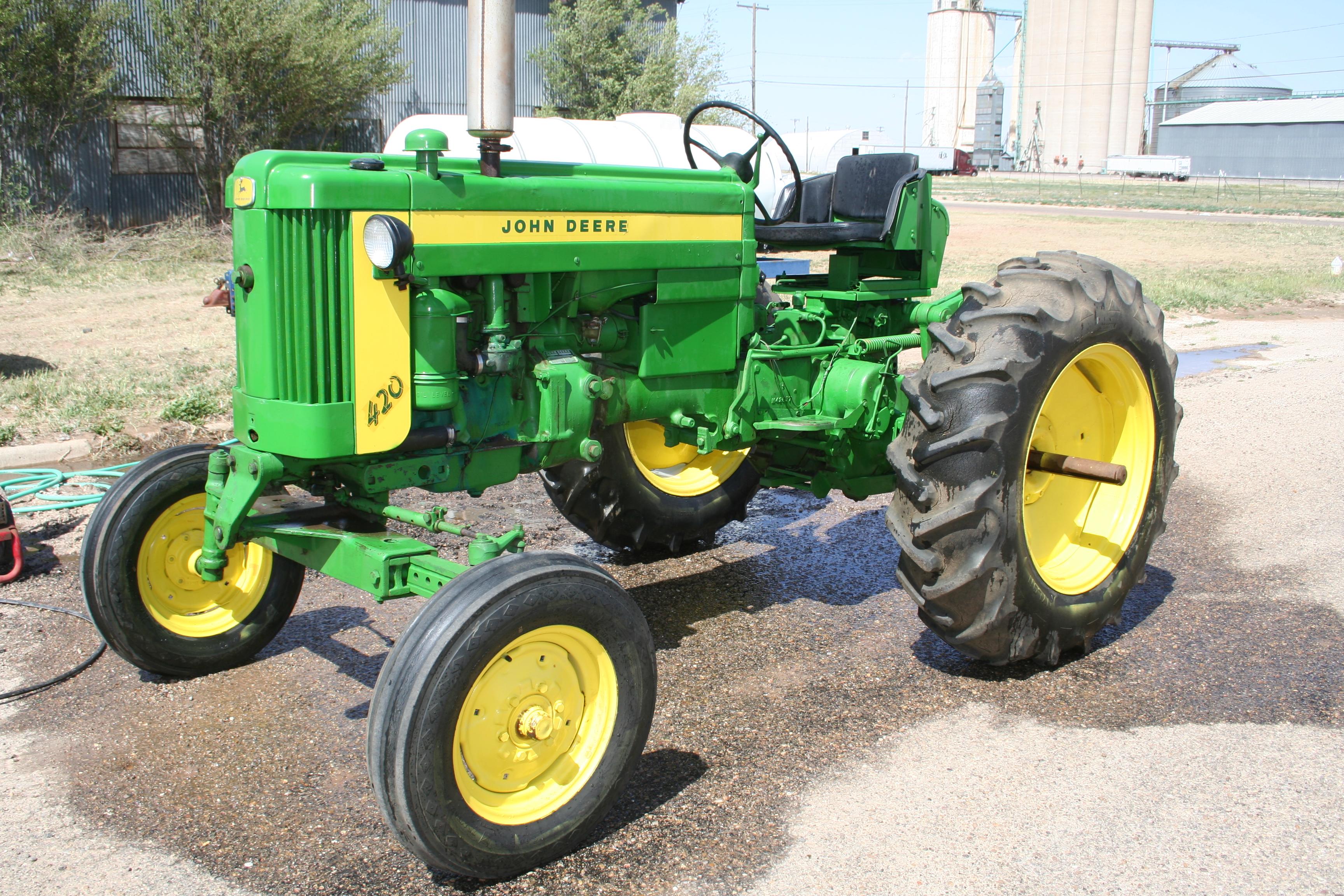John Deere 420 1958 Troy 39 S Tractors