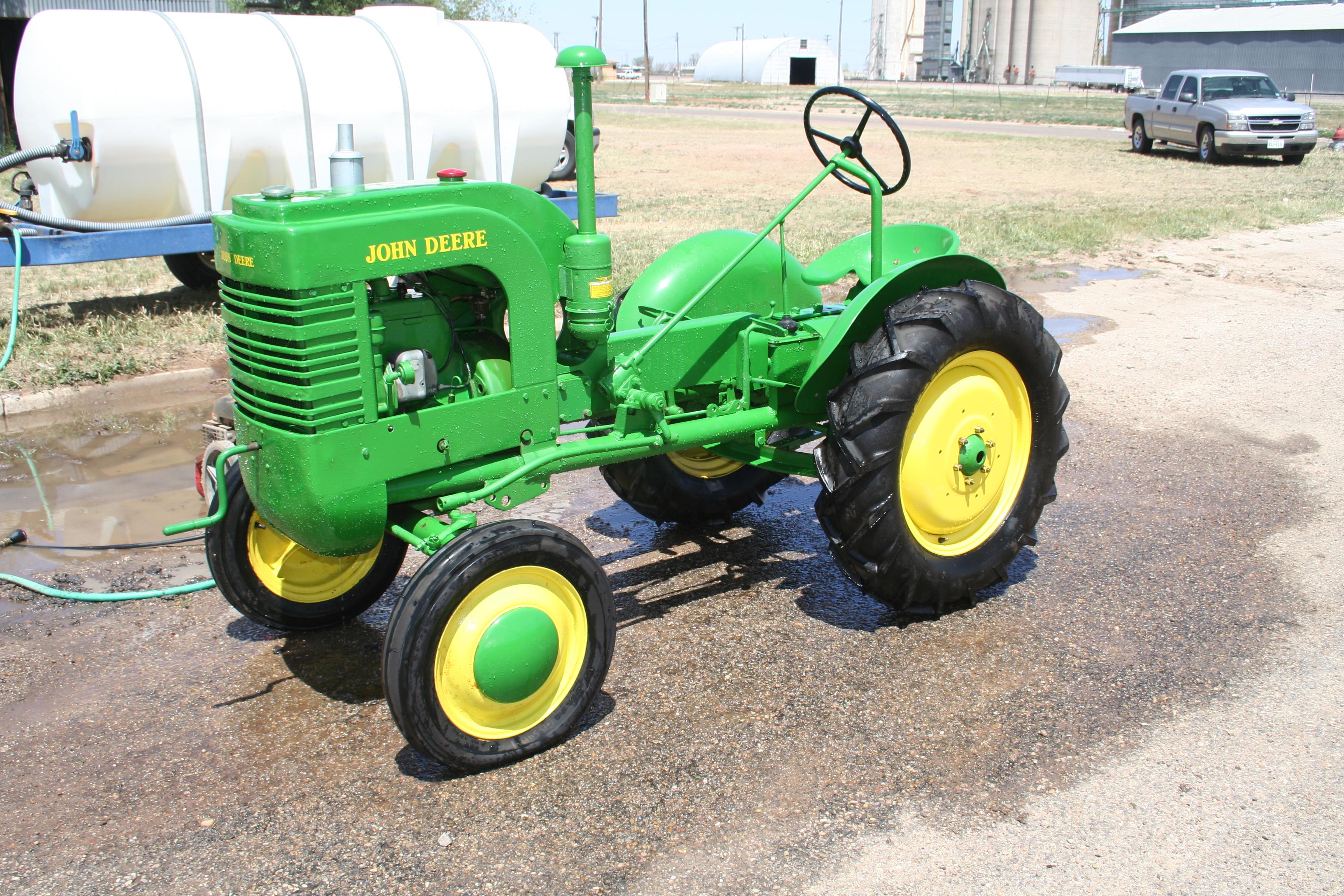 John Deere L Tires : John deere l troy s tractors