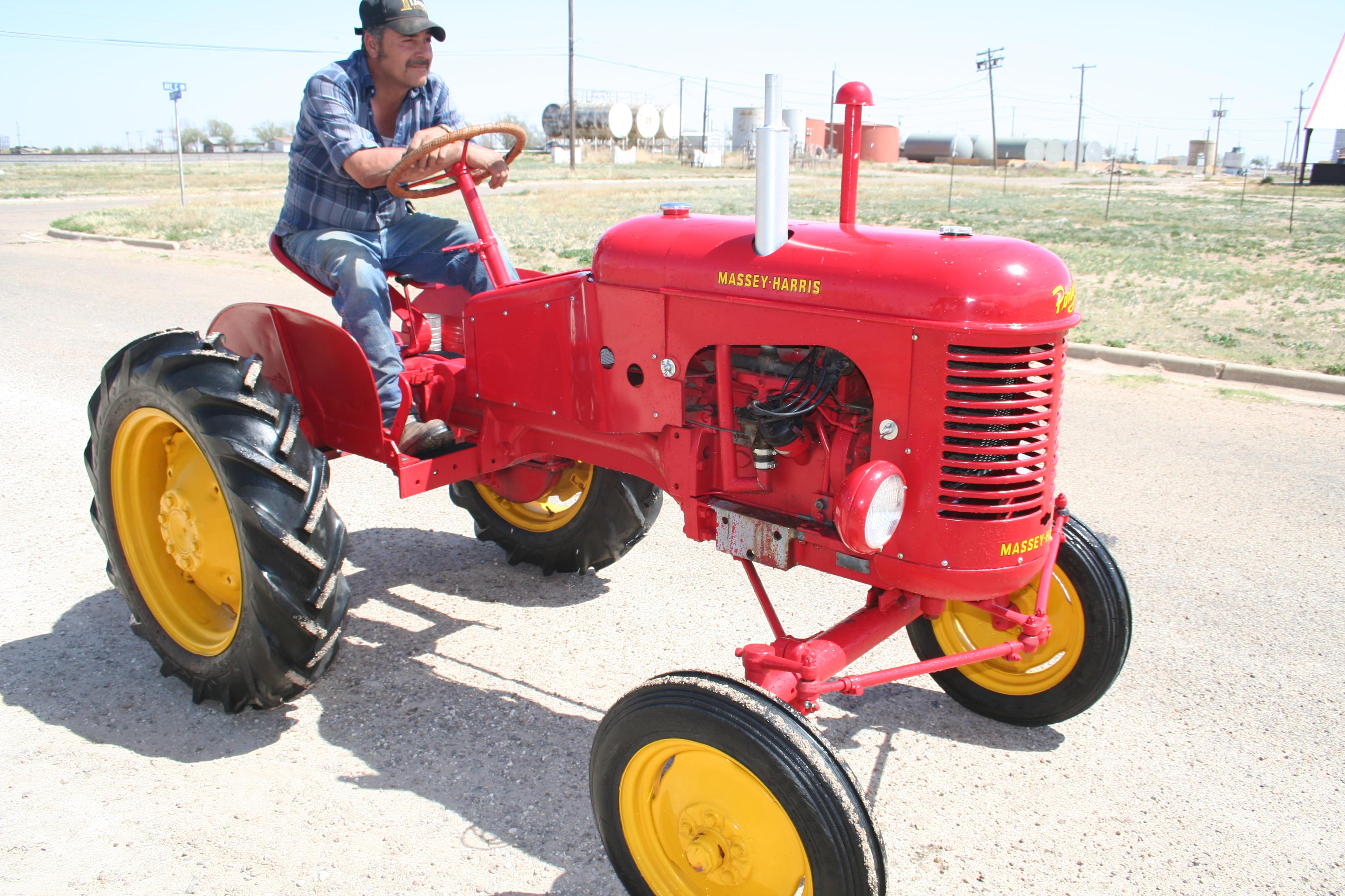 Massey Harris Tractor : Massey harris pony troy s tractors