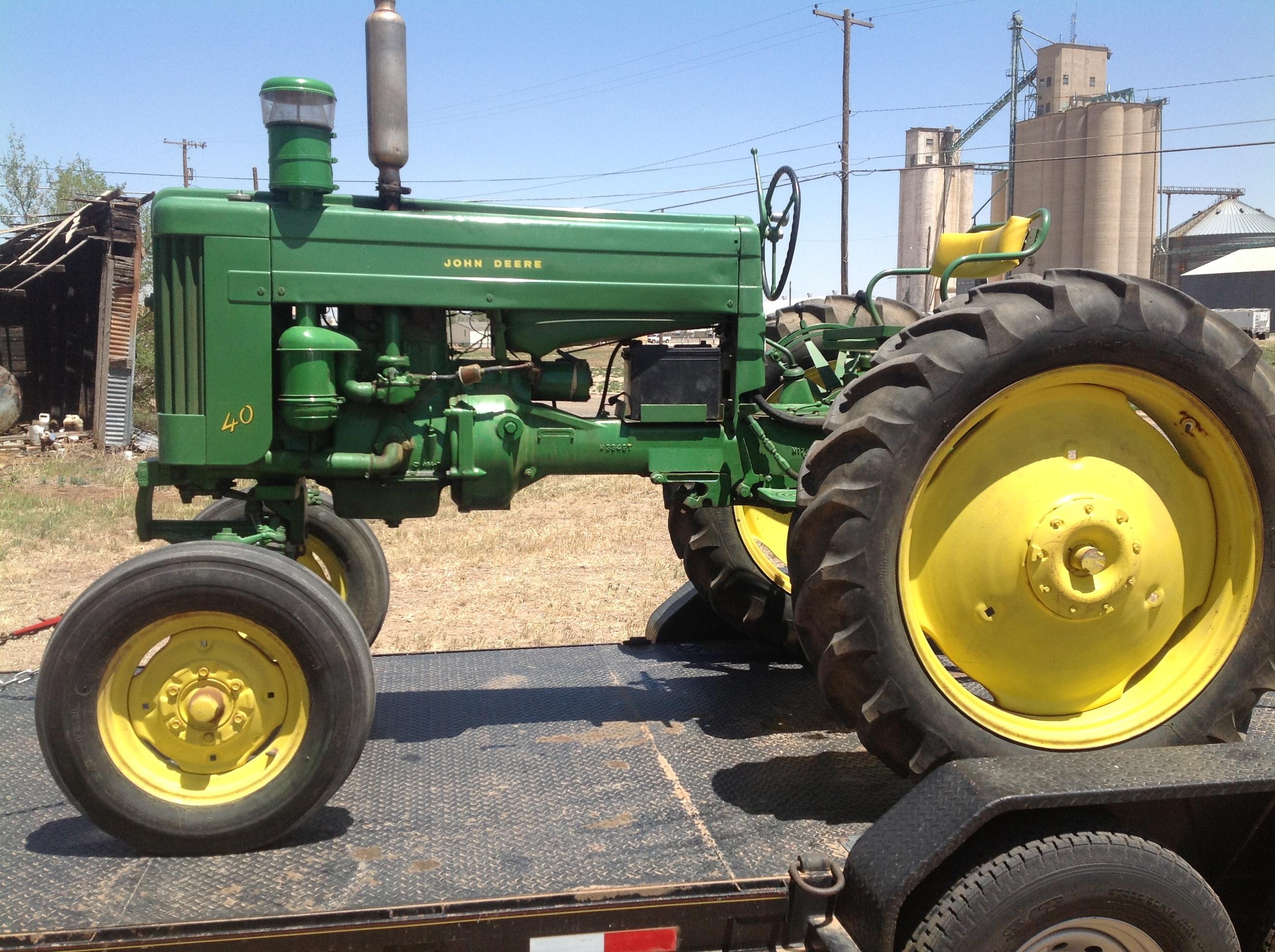 John Deere 40 Parts : John deere huffman troy s tractors